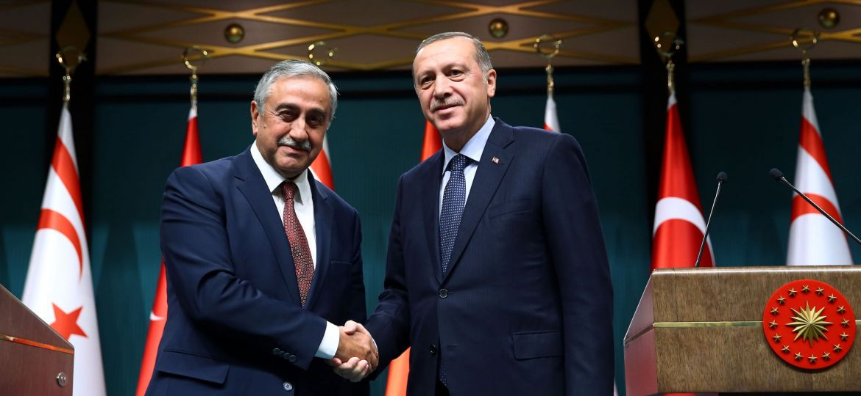 Cumhurbaşkanı Erdoğan - KKTC Cumhurbaşkanı Akıncı ortak basın toplantısı
