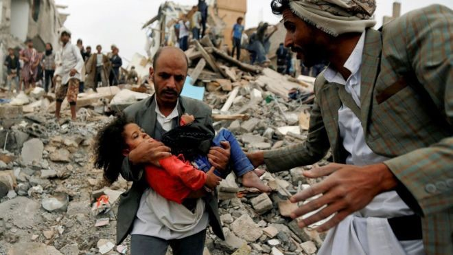 yemen katliam