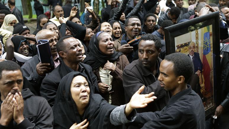 etiyopya cami saldırısı