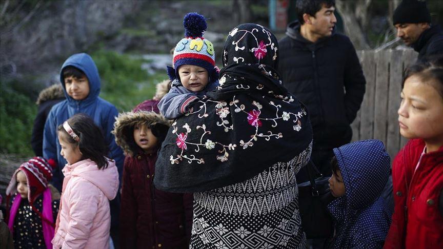 mülteciler korona