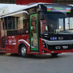 Otobüs ihracat BMC Azerbaycan