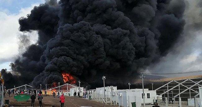 Bosna Hersek yangın