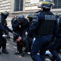 fransa polis şiddeti