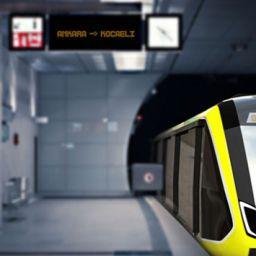 Ankara'da yerli metro