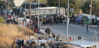 mülteci kampı yunanistan