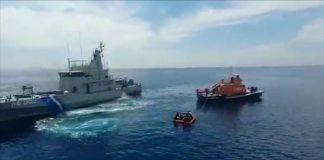 Yunan sahil güvenliği