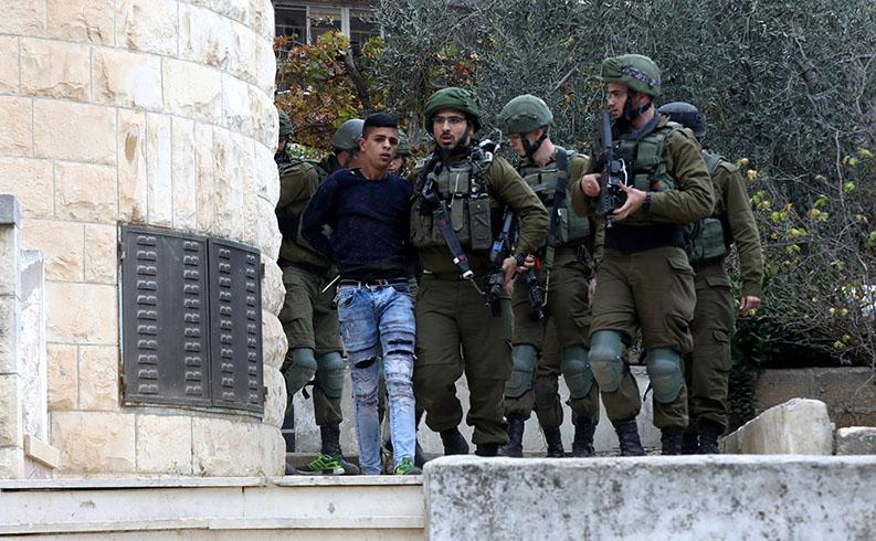 İsrail Filistin gözaltı