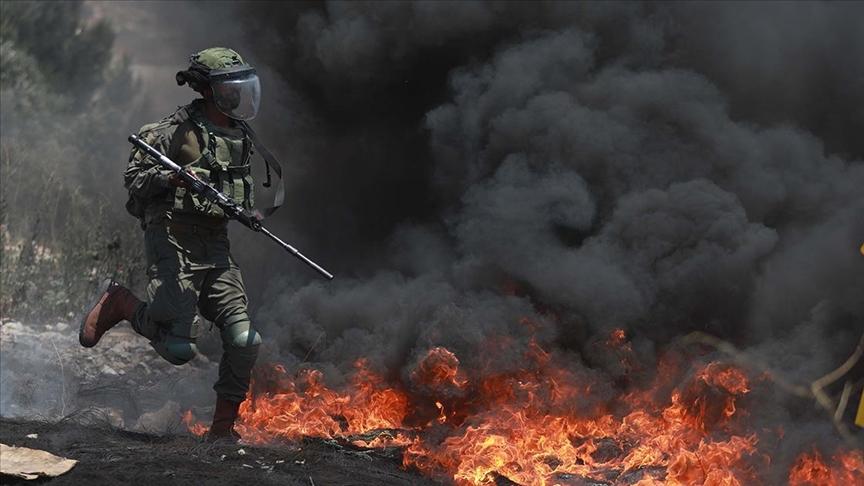 İsrail güçleri Filistinliler