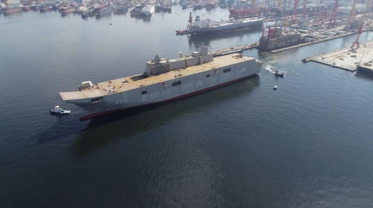 Türkiye'den Hindistan'a askeri gemi için destek