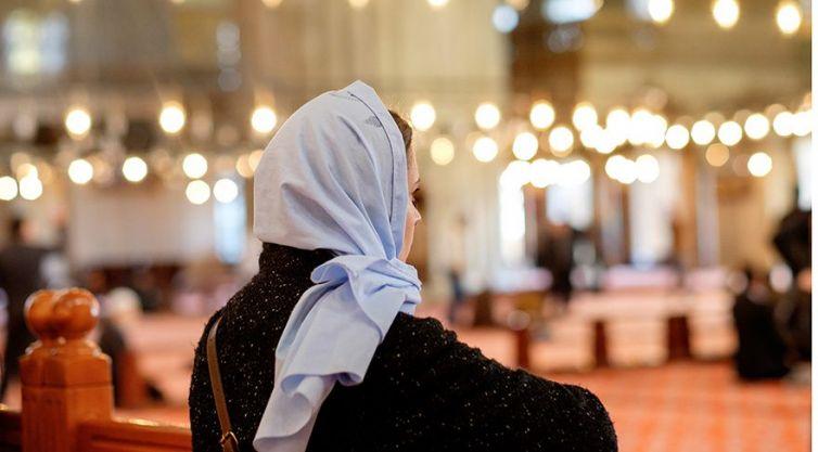 Danimarkada müslüman kadın