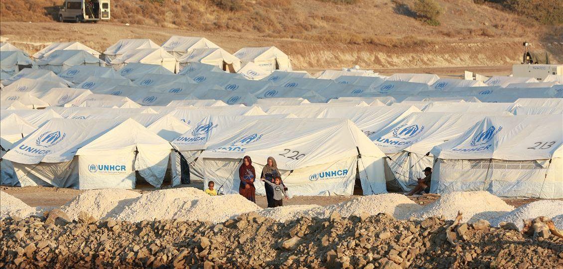 Yunanistan mülteci kampı