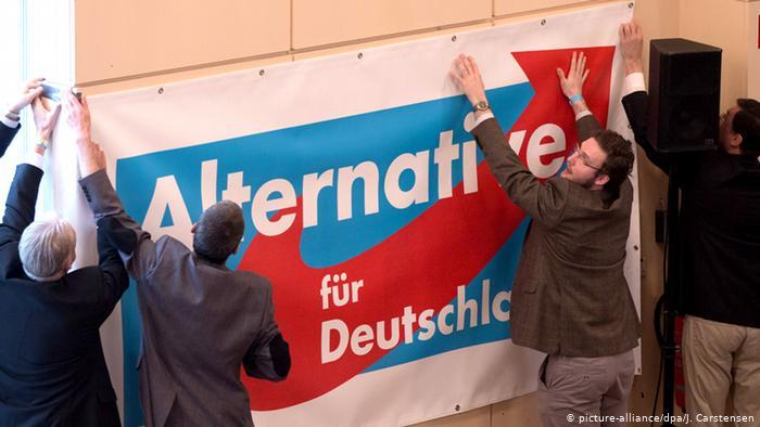 Almanya parti aşırı sağcı