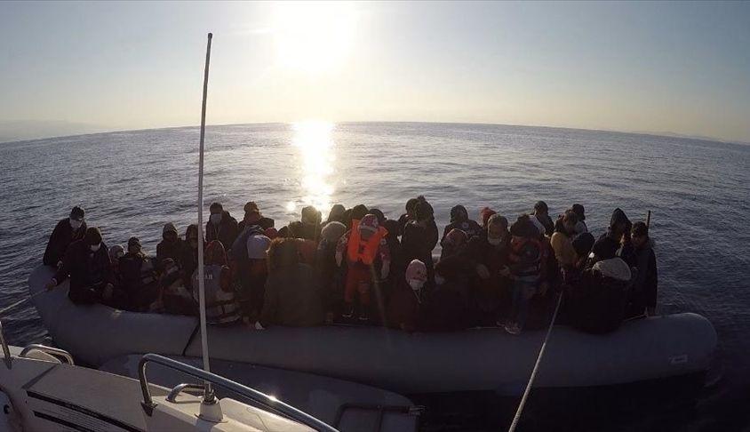 Türkiye'de iki günde 285 düzensiz göçmen kurtarıldı
