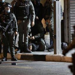 işgalci israil polisi