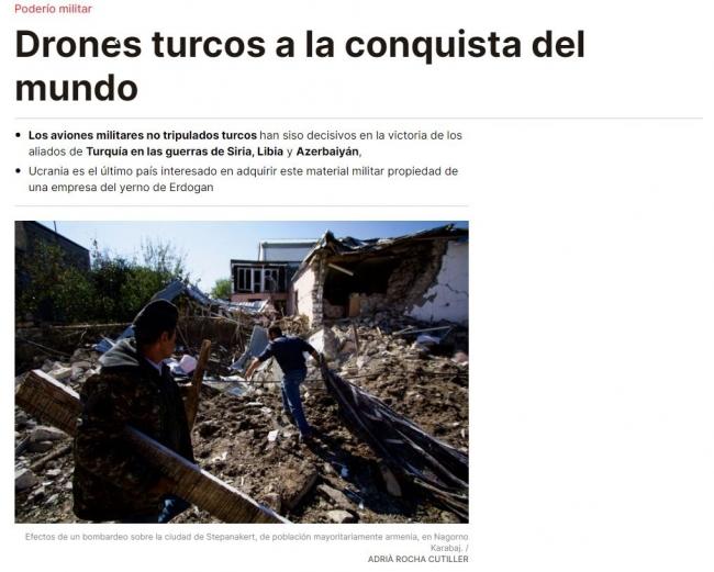 İspanyol gazete SİHA Türk