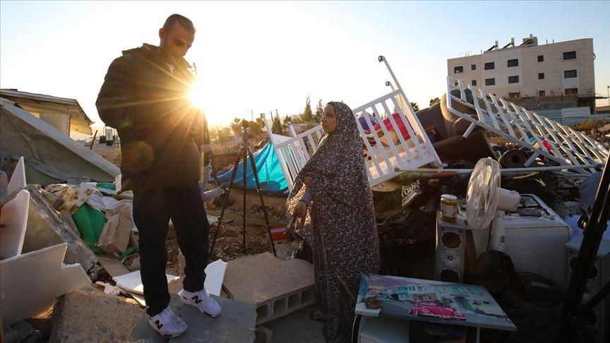 İsrail güçleri evsiz