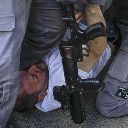 İsrail polisinden saldırı