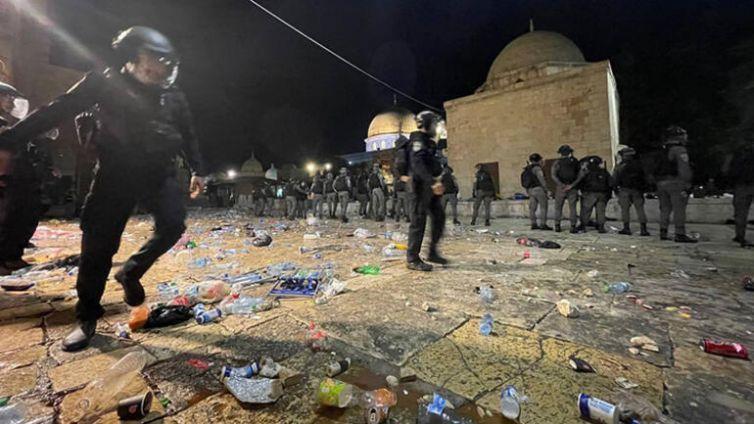 Filistinlilere saldırı kudüs