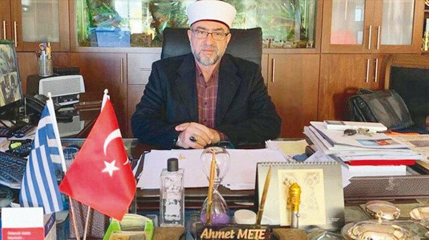 İskeçe Müftüsü Ahmet Mete