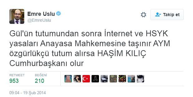Kılıçdaroğlu adaylık