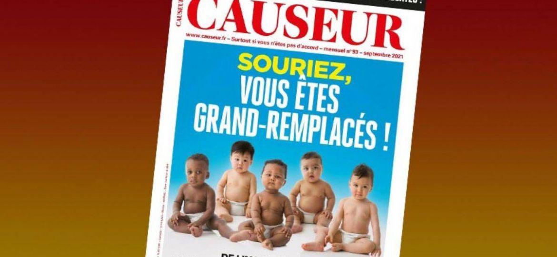 Fransız-dergi-ırkçı